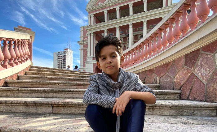 Vinne Ramos, jovem talento amazonense, disputa vaga no The Voice Kids neste domingo (27)