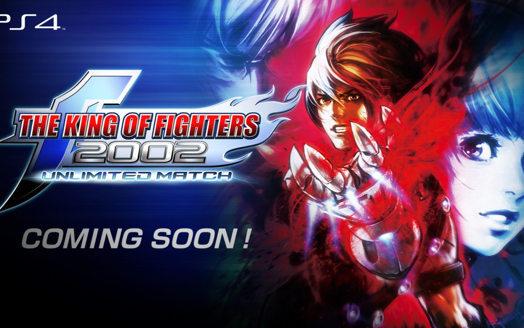 The King of Fighters 2002 Unlimited Match deve chegar em breve ao PS4